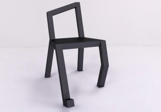 Niezwykłe krzesła – aż chce się usiąść!