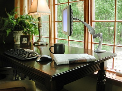 Praca w domowym biurze