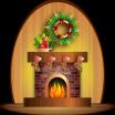 Kominek. Pomysły na świąteczne dekoracje