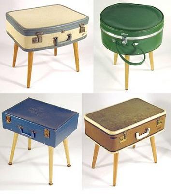 stolik z walizki