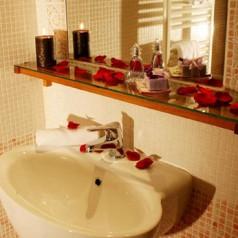 Łazienka w stylu romantycznym